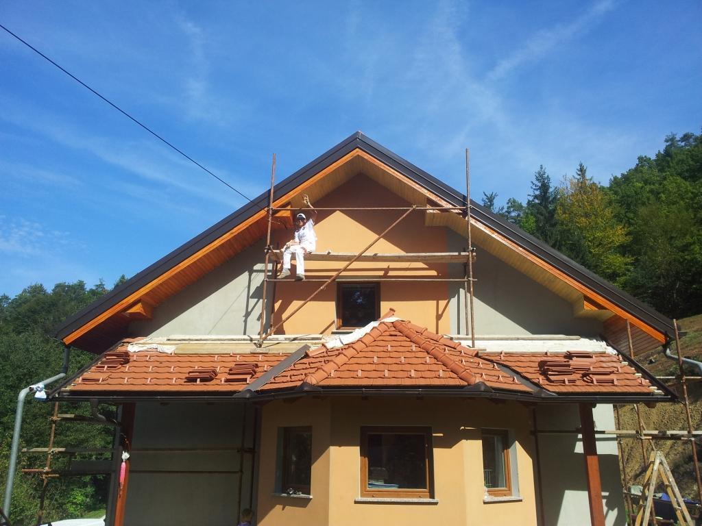 Pleskanje in fasaderska dela - product image